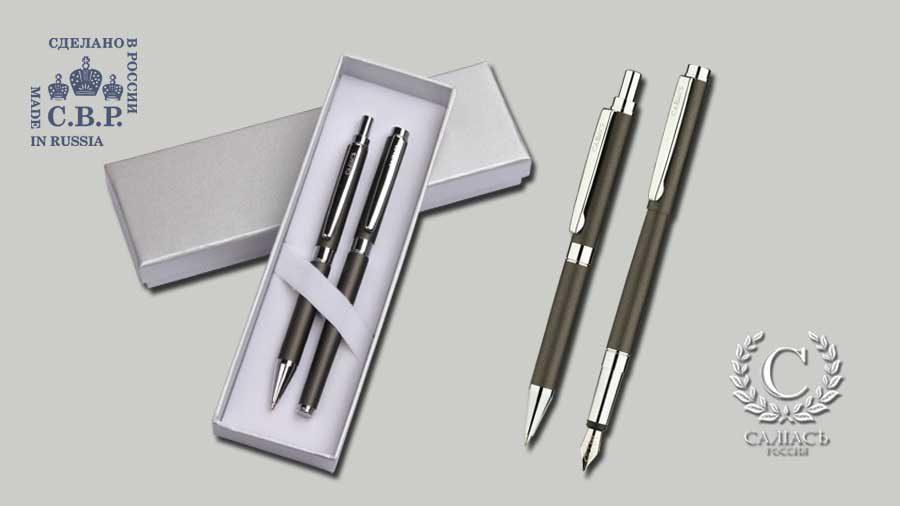 Набор «Гдов», перьевая ручка и карандаш