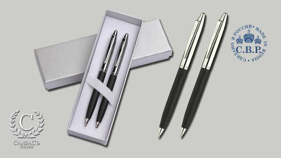 Набор «Новгород», шариковая ручка и карандаш
